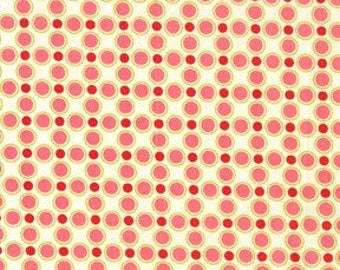 Michael Miller by Sandi Henderson Meadowsweet Meadow Dot Blush Fabric - 1 yard