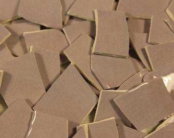125 Lavender Mosaic Tile Pieces, Mosaic Supplies, Thin Ceramic Mosaic Tiles, Item # ST-5001