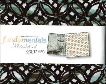"Sale! Charm Pack - Fundamentals by Michele D'Amore Contempo Benartex  42 - 5"" x 5"" squares"