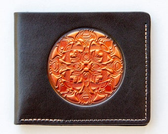 Leather Wallet / men's leather wallet