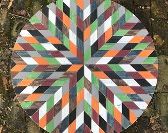 Circle Barn Quilt