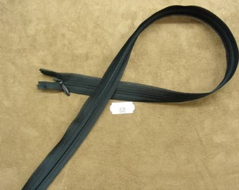 Invisible zipper 60 cm - black