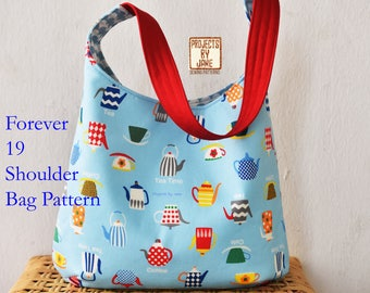 Forever 19 Shoulder Bag Pattern | PDF Sewing Pattern | Bag Sewing Pattern |