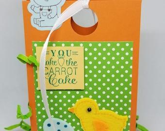 Easter Treat Box-Orange/Green