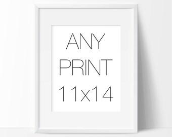 Any Print 11x14