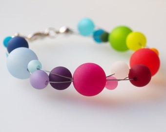 rainbow bracelet polaris