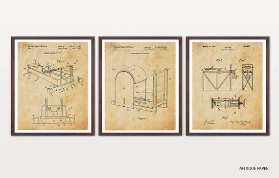 Pilates Patent Art - Pilates Poster - Pilates Decor - Pilates Studio - Exercise - Exercise Poster - Exercise Machine - Gym - Gym Art