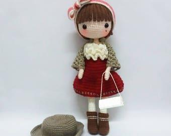 Amigurumi Doll Patterns : Amigurumi doll crochet pattern crochet dolls pattern