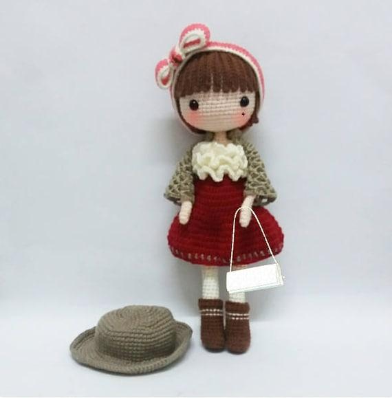 Crochet Garage Crochet Doll Pattern Amigurumi Doll Pattern