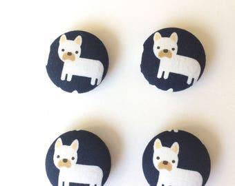 Dog Magnets - Frenchie Magnets- Dog Lover Gift- Frenchie Lover Gift