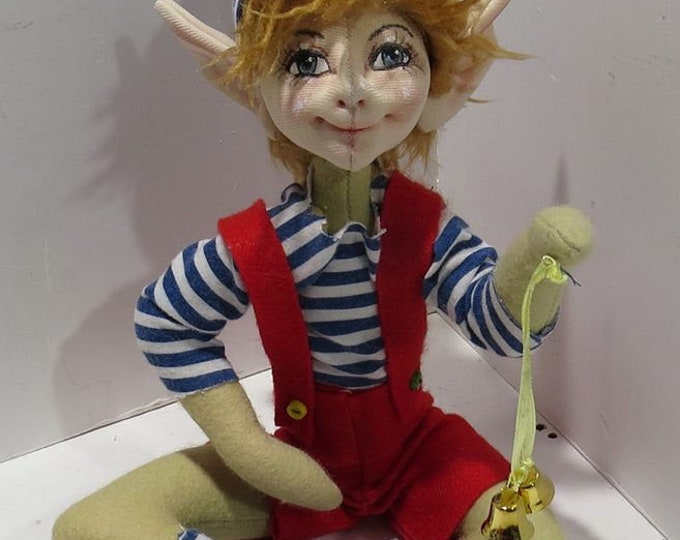 "SM924E - Pix & Pax  - 9"" Pixie/Elf/Fairy Cloth Doll Making Sewing Pattern - PDF Download"