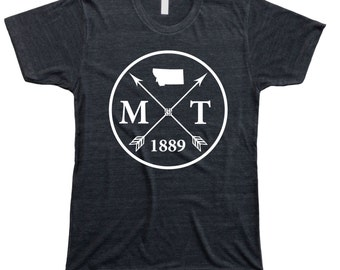 Homeland Tees Men's Montana Arrow T-Shirt