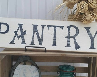 Pantry sign   Farmhouse sign   Farmhouse Kitchen Sign   Wall Decor   Wooden sign   Country Sign