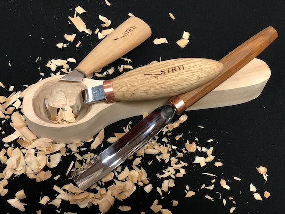 Spoon carving set of tools wooden wood