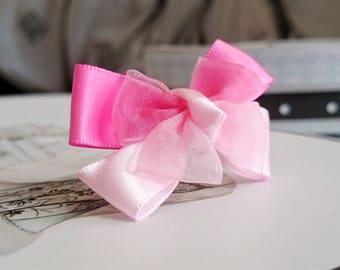 Ring 4 pink ribbon bow ribbons
