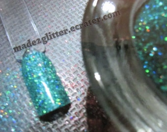 Holographic Glitter in various colors solvent resistant extra fine 1/128 nail art glitter