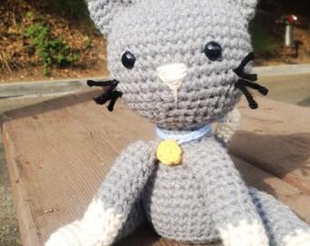 Kitty, Crochet kitty, Amigurumi kitty, Cat, Crochet cat, Amigurumi Cat