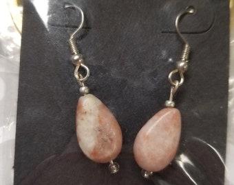 Earrings.  Semi precious STONES
