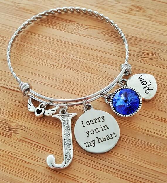 Sympathy Bracelet Sympathy Gift In Memory of Mom Memorial Bracelet Loss of Mom Loss of Mother Remembrance Bracelet Remembrance Jewelry