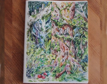 Princess Mononoke Notebook / sketchbook , tribute