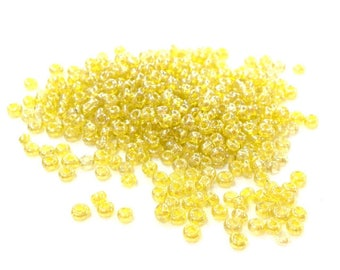 ♥ 10gr 2mm♥ Pearly ORANGE glass seed beads