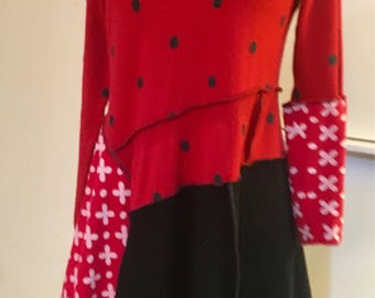 Red and Ready for Fun! Small tunic