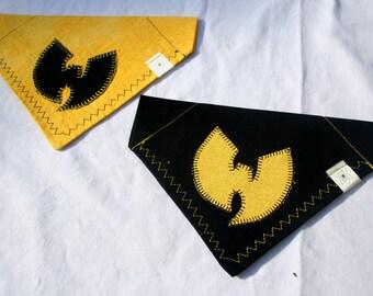 Wu-Tang Clan Black and Yellow Dog Bandana