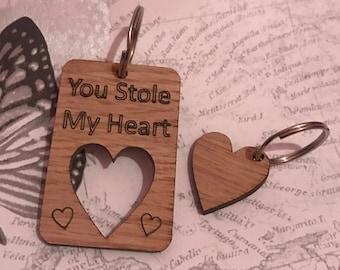 Valentines Love Keyrings
