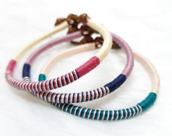 bracelet free zac rainbow knot braided rings misanga store shipping handmade market colorful forever rakuten beads promise hair global world en bracelets item