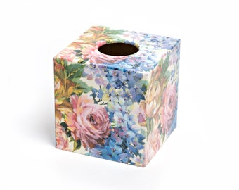 Summer Bouquet Tissue Box Cover perfect for mothers day