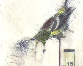 Bird Painting Collage - 15