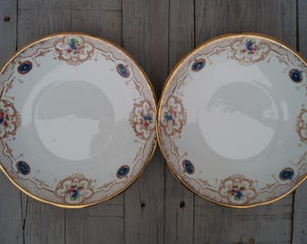 Dinner Plate (Set of 2)  Heathcote - Calais Pattern - England c. 1912+