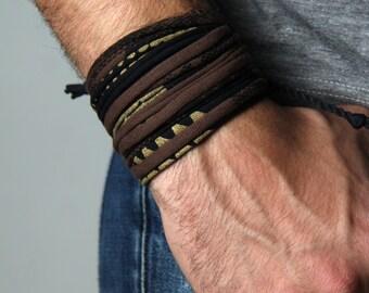 Mens Bracelet, Gift for Men, Boyfriend Gift, Mens Gift, Festival Clothing, Burning Man, Boyfriend, Cuff Bracelet, Festival, Gift for Husband