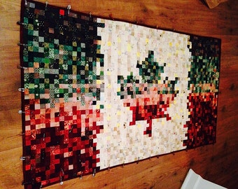 Canadian Flag Quilt