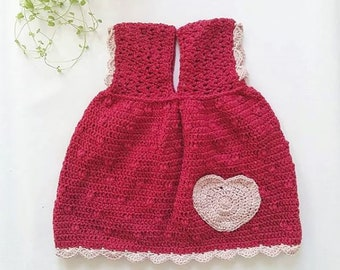 Little Miss Sunshine Strawberry Dress
