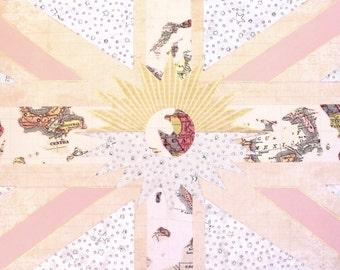 wanderlust flag giclee art print