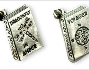 Diana Gabaldon Outlandish Flat Style Charms- With or Without Antiquing