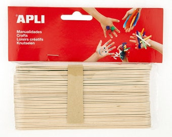 40 x wooden stick (15 x 1.8 cm) - love - Ref 13268 - until the stock!