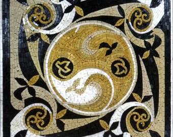 Geometric Mosaic Square - Juliette II