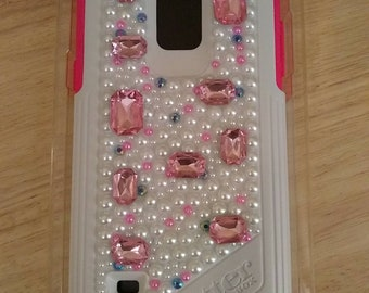 NEW Otterbox Commuter Samsung Galaxy Note 4 Case Neon Rose