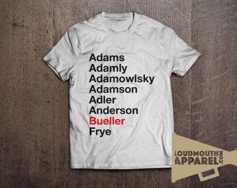 Ferris Bueller Register Movie Men's T-Shirt