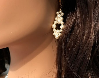 Bridal Collection XV: Cream Pearl Earrings