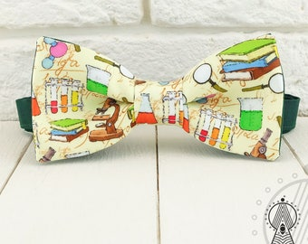 Chemistry Bow Tie, Chemical, Scientific print, Gift for a chemist