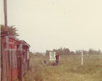 In the Fields 2, 1970s, Upstate New York, Instant Download Digital Vintage Photograph Landscape Photography