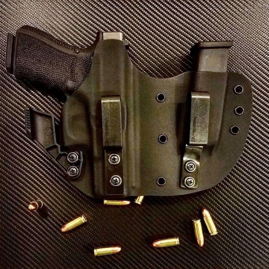 Glock 19 23 und 32 Kydex IWB rechten Anhang verborgen tragen