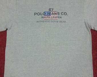 Rare Polo jeans co by Ralph Lauren t-shirts / large / big logo / spellout / polo sport / tommy hilfiger / nautica / hiphop / chaps