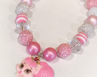 Palace Pet (Kitty Cat) Chunky Bubblegum Necklace