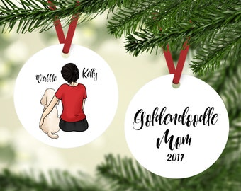 Doodle Mom Ornament, Goldendoodle Mom Ornament, Labradoodle  Ornament, Goldendoodle Ornament, Labradoodle Mom Ornament, Goldendoodle Gift