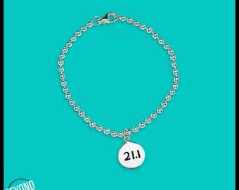 21.1 Half Marathon Bracelet