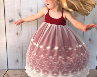SAMPLE SALE - Marin Dress in Pomegranate - Size 4